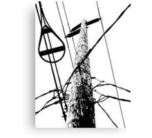 streetpole Canvas Print