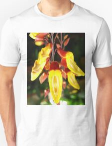 Tropical Yellow Hanging Flower T-Shirt