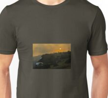 Full Moon at Sunset Unisex T-Shirt