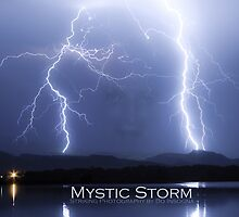 Mystic Lightning Storm Poster by Bo Insogna