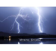 Mystic Lightning Storm Poster Photographic Print