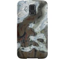 Silver Metal Rocks Pattern  Samsung Galaxy Case/Skin