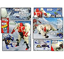 Transformers Beast Wars The Gathering Photographic Print