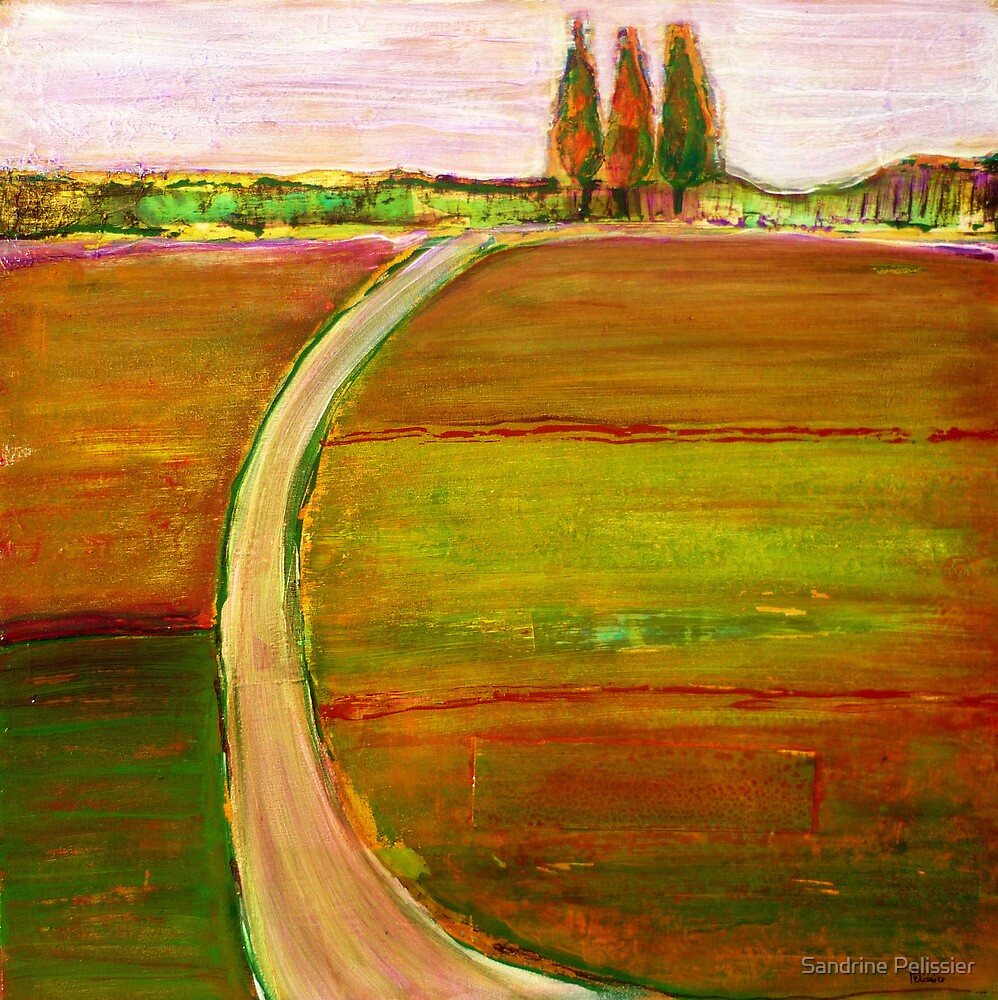 The Lonely Road by Sandrine Pelissier