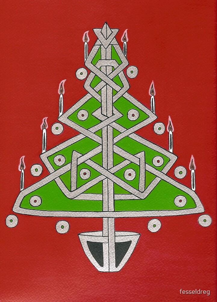 Celtic Christmas Tree by fesseldreg