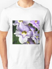 Purple and Yellow Flower Blooms T-Shirt