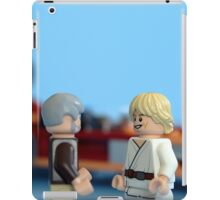 Old Ben and Luke iPad Case/Skin