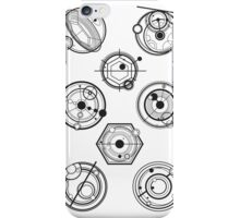 Gallifreyan Mix iPhone Case/Skin