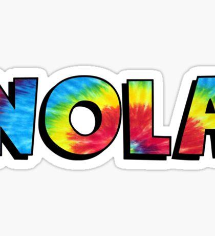 NOLA TieDye Sticker