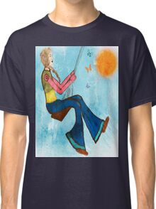 Swing With Butterflies Classic T-Shirt