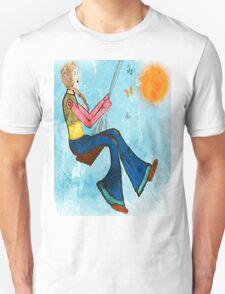 Swing With Butterflies T-Shirt