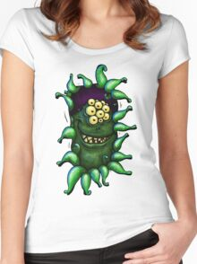 ooh, people! ... anyone wanna play? Women's Fitted Scoop T-Shirt