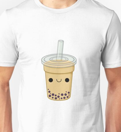 Cute Bubble Tea Unisex T-Shirt