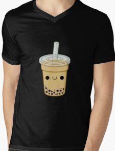 Cute Bubble Tea Mens V-Neck T-Shirt