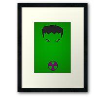 Minimalist - Hulk Framed Print