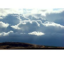 There's A Storm Across The Valley. . . Photographic Print