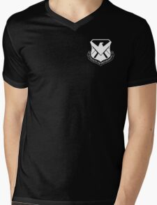 S.H.I.E.L.D. Air Wing - White Mens V-Neck T-Shirt