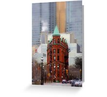 Class amongst The Glass. Greeting Card