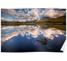 Loch Tulla Summer Reflection  Poster