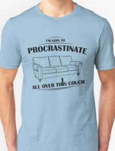 Procrastinating Couch T-Shirt