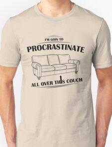 Procrastinating Couch T-Shirt