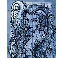 Octopian Girl Photographic Print