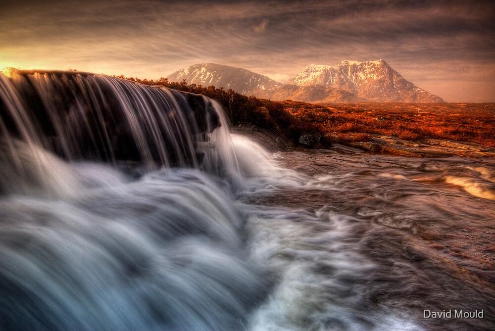 Sron Na Creise from 'the Cauldron', Glencoe by David Mould