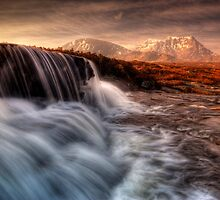 Sron Na Creise from 'the Cauldron', Glencoe by David Mould