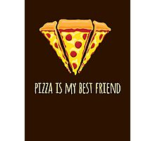 Diamond Pizza Photographic Print