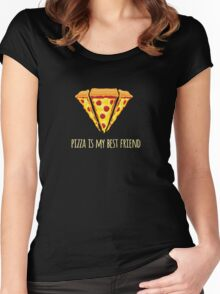 Diamond Pizza Women's Fitted Scoop T-Shirt