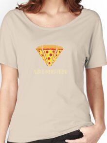 Diamond Pizza Women's Relaxed Fit T-Shirt