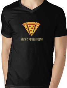 Diamond Pizza Mens V-Neck T-Shirt