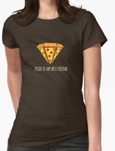 Diamond Pizza Womens Fitted T-Shirt