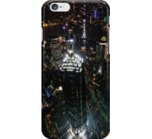 Jin Mao Tower at Night from Above - Shanghai iPhone Case/Skin