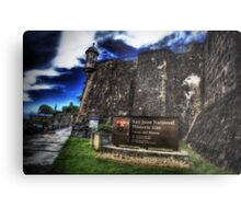Paseo del Morro, Old San Juan, Puerto Rico Metal Print