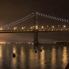 San Francisco Bay Bridge serie by Sebastian Warnes