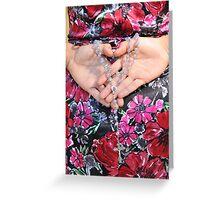 Rosary Heart Greeting Card