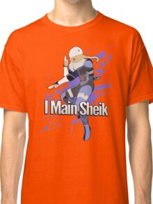 I Main Sheik - Super Smash Bros. Classic T-Shirt