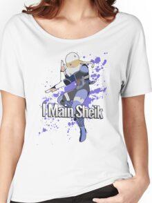 I Main Sheik - Super Smash Bros. Women's Relaxed Fit T-Shirt