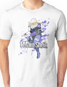 I Main Sheik - Super Smash Bros. Unisex T-Shirt