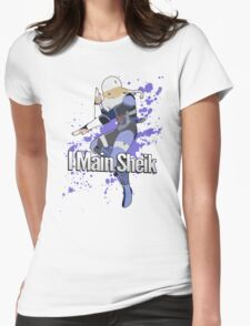 I Main Sheik - Super Smash Bros. Womens Fitted T-Shirt