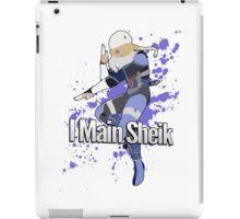 I Main Sheik - Super Smash Bros. iPad Case/Skin