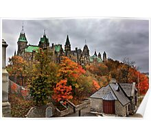 Ottawa in Autumn Poster