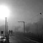 Waiting For The Train III by TomRaven