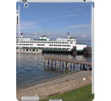 ferry Chelan at Mukilteo iPad Case/Skin