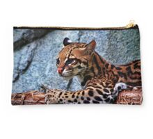 Ocelot Painted Studio Pouch