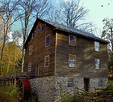The Old Saw Mill by Lanis Rossi