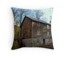 The Old Saw Mill Throw Pillow