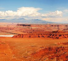 Dead Horse Point View  by Olga Zvereva
