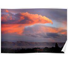Phoenix over Yakima, Wa Poster